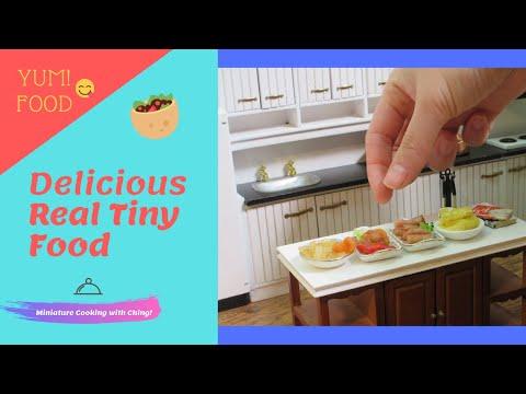 Mini real food kitchen -Fried chicken- Menudo-Tempura  - Compilation miniature  videos channel