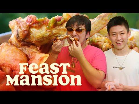 Joji and Rich Brian Make Spicy Indonesian Fried Chicken | Feast Mansion - Thời lượng: 13 phút.