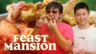 Video Joji and Rich Brian Make Spicy Indonesian Fried Chicken | Feast Mansion MP3, 3GP, MP4, WEBM, AVI, FLV Desember 2018