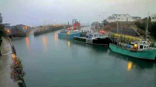 Hall's Harbour, Bay of Fundy NS. Timelapse movie 6 hours in 3 minutes Dec 15, 2011