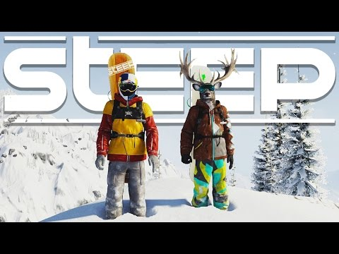 Steep Gameplay - Bombing the Mountain with Blitz! - Let's Play Steep