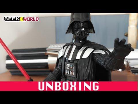 Le Seigneur Noir Des Sith ! BUSTE DARTH VADER - UNBOXING FIGURINE STAR WARS
