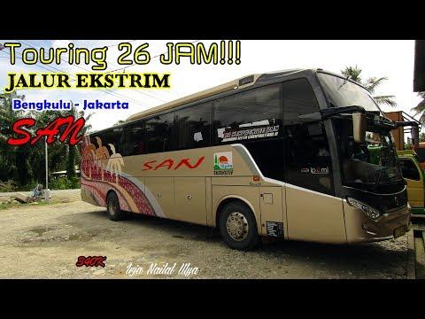 Download Video 26 Jam Naik Bus, Jalur Ekstrim Sumatera Kembali Ke Jawa. Trip By SAN Bengkulu-Jakarta