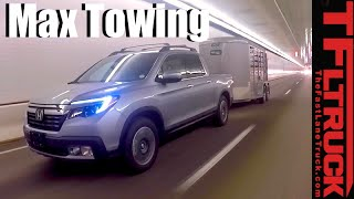 2017 Honda Ridgeline Super Ike Gauntlet Towing Review by The Fast Lane Truck