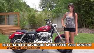 7. Used 2014 Harley Davidson Sportster 1200 Custom Motorcycles for sale