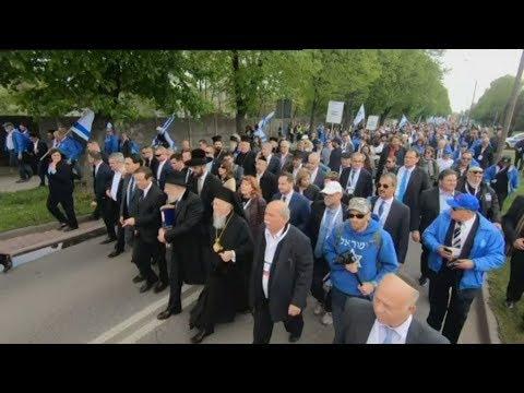Στο 'Αουσβιτς ο πρόεδρος της Βουλής Νίκος Βούτσης συμμετείχε στην «Πορεία των Ζώντων»