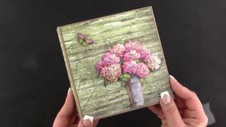 A quick video of three new paper creations available in my Etsy shop My Cat https://www.etsy.com/listing/511585101/my-cat-tri-fold-mini-album Vintage Floret ...