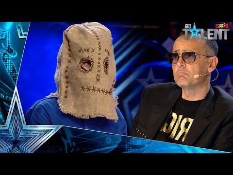 El TERRORÍFICO mago enmascarado que HA ASUSTADO a todos | Audiciones 2 | Got Talent España 2021