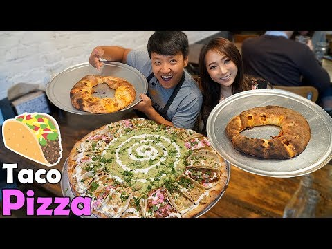 RAMEN PIZZA! Insane PIZZA Tour of New York & New Jersey!