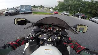 3. 2011 Suzuki Hayabusa GSX1300R test drive review