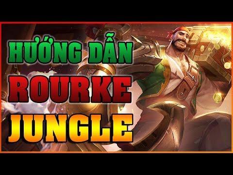 Xả Súng Kinh Hoàng với tướng ROURKE - Cách Chơi ROURKE đi RỪNG - ARENA OF VALOR ROURKE - Thời lượng: 11 phút.
