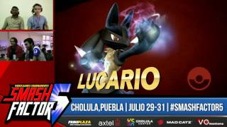 SF5 Smash 4 – Serge (Lucario) Vs. Darkfall (Link)