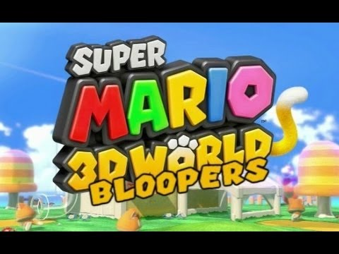 Super Mario 3D World Bloopers