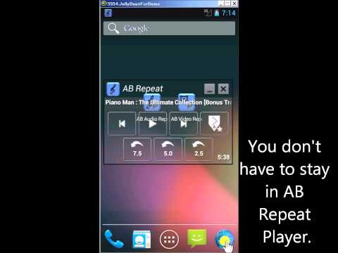 Video of AB Repeat Player