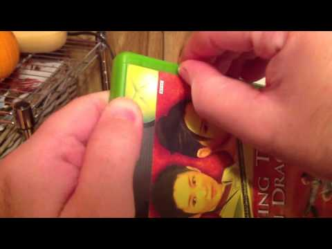 Unboxing Crouching Tiger Hidden Dragon for xbox