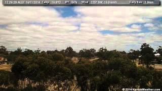 16 November 2014 - West Facing WeatherCam Timelapse - KanivaWeather.com