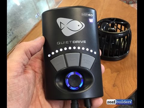 Ecotech Marine President Tim Marks explains how QuietDrive works with Vortech pumps