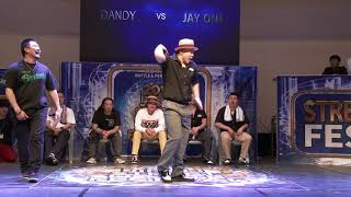 Dandy vs J.One – 2018 JINJU SDF POPPING SIDE BEST8