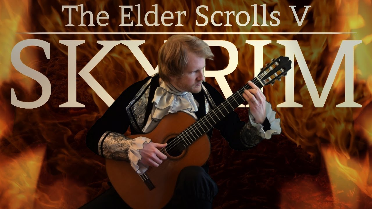 The Elder Scrolls V: Skyrim – Around the Fire (Acoustic Classical Guitar Fingerstyle Cover)