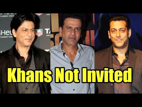 Here's Why Manoj Bajpayee Didn't Invite Shah R