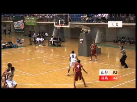 東北中学校バスケ 準決勝 温海vs中央台北