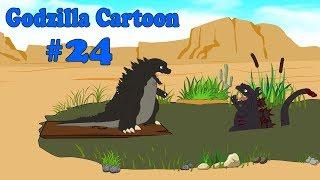 Godzilla vs Shin Godzilla: Water Lands #24   Godzilla Funny Cartoon