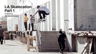 Global Flow Riders on the trip of a lifetime to skate in LA with pro