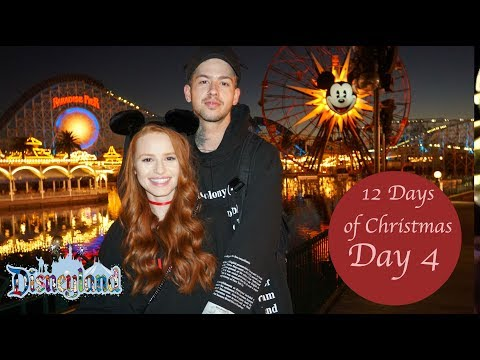 GOING TO DISNEYLAND FOR MY FIRST TIME | Madelaine Petsch (видео)