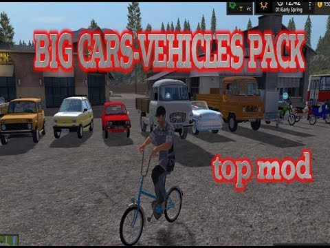 Big Cars-Vehicles Pack v1.0