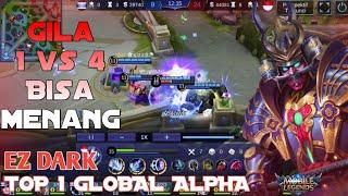 Video EZ DARK Top 1 Global Alpha Ngamuk di Arena Contest MP3, 3GP, MP4, WEBM, AVI, FLV September 2018