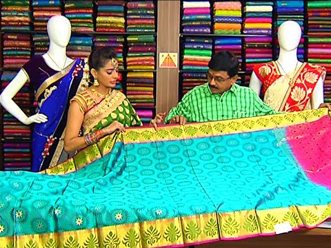Latest Collection of Tripura Pattu Sarees and Fancy Sarees | Sogasu Chuda Tarama 01 July 2015 01 34 PM