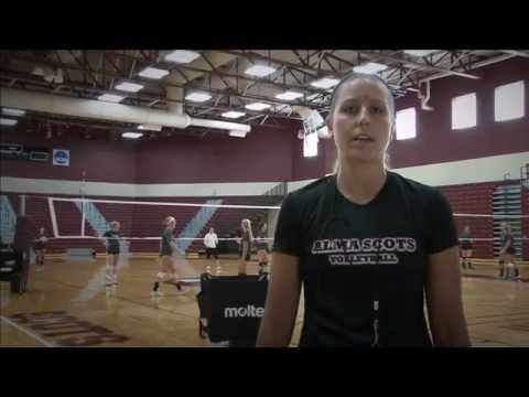 Alma College Volleyball - Opening the 2012 Season