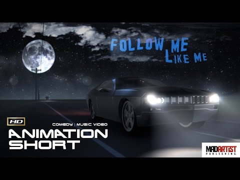 "Stop Motion Animated Short ""FOLLOW ME, LIKE ME"" Funny Music Video By Brian Kroll"