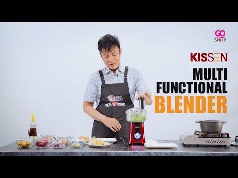 Kissen Multi-functional Blender with Food Processor