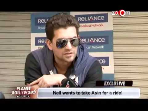 Neil Niting Mukesh wants to take Asin for a ride