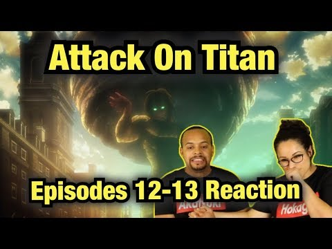 Humanity's 1st Victory  attack on titan season 1 reaction Ep 12-13 |  AOT REACTION