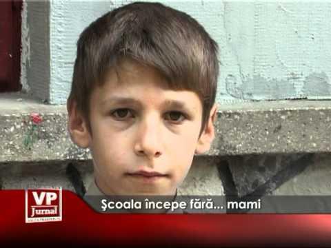 Şcoala începe fără… mami