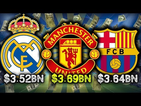 Video: 10 Richest Football Clubs 2017!