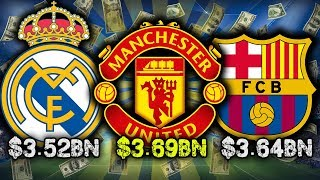 Video 10 Richest Football Clubs 2017! MP3, 3GP, MP4, WEBM, AVI, FLV Agustus 2017