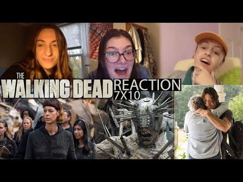 The Walking Dead - 7x10 New Best Friends - Reaction