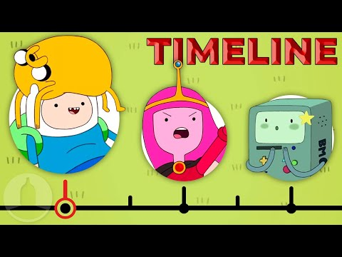 The Complete Adventure Time Timeline | Channel Frederator