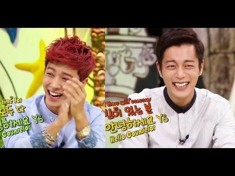 Beast - Hello Counselor - with BEAST (2013.09.09) Counseling Session with Warm Idol Males; Six men who are the core of the Korean Wave come to listen to concerns. Th...