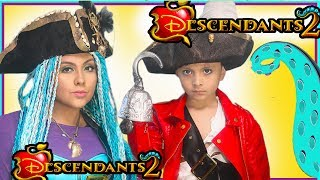 Hello PRINCESS!Today we have Disney Descendants Uma and Harry Hook stirring trouble in this fun makeup tutorial and costume video! Descendientes 2 en espanolIf you would like to see how I made the hat and wig, Click here:https://www.youtube.com/watch?v=bx93zCyuKms&t=1sI enjoyed the new movie Descendants 2 so much! I loved all the characters Evie, Mal, Carlos and JAY!I also loved the new song my China What's my nameThis would be a great look for halloween!Hello Princess! Today I put together this DIY of Uma's (from the song What's my name, Chillin' like a villain, You and Me), Hat from the Disney Descendants, pirate hat. You can purchase the plain black pirate hat I used in this tutorial right here : https://goo.gl/P87sMjShe is the daughter of Ursula! I can't wait to watch Descendants 2 with the whole cast, Dove Cameron, Cameron Boyce, Sofia Carson, Booboo Stewart. Stay tune for my transformation into Uma coming soon!Makeup tutorial and outfit! Don't forget to watch some of my other Disney makeup tutorials and transformations into Moana Tefiti, Teka, beauty and the beast, Dreamworks Trolls character's including poppy and branch, lady glitter sparkles and much more!  Pelicula descendientes en espanol! Here's how Princess is called in other languages: Princesas Disney, Princesses Disney, Disney Prinzessinnen, Principesse Disney, Princesas da Disney, Disney πριγκίπισσες, Дисней принцесс, 디즈니 공주, Prinses, ディズニーのお姫様, Vorstin, koningsdochter, Prinzessin, Fürstin, πριγκίπισσα, principessa, księżniczka, królewna, принцесса.