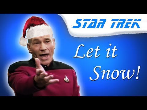 Captain Picard sings Let it Snow