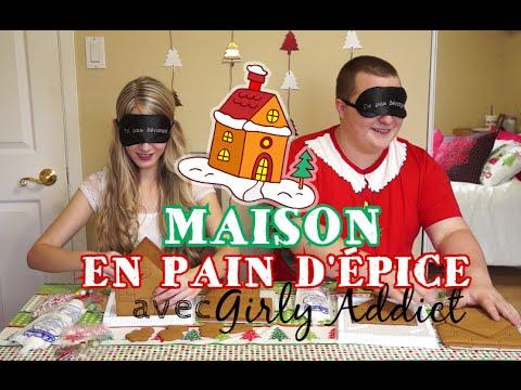 Challenge Maison Pain d'Épice (Avec GirlyAddict) || NOËL 2015