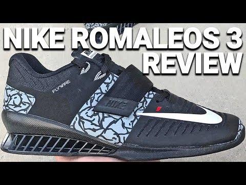 Nike Romaleos 3 Demonstration and Review or Adidas Adipower, Reebok Crossfit, INOV-8 Fastlift?