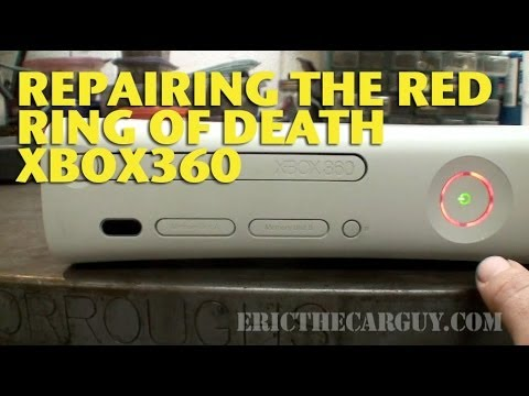 Repairing The Red Ring of Death XBox 360 – EricTheCarGuy