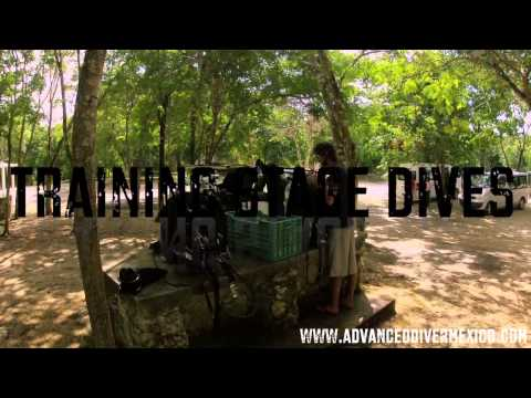 Cave diving Mexico IANTD SATGE COURSE 2013