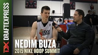 Nedim Buza - DraftExpress Interview - 2015 Nike Hoop Summit
