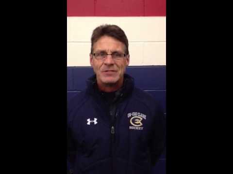 Women's Hockey Coach Mike Collins Recaps 5-0 Loss at Bethel